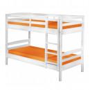 Großhandel Kindermöbel:Etagenbett - weiß