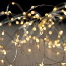 grossiste Chaines de lumieres: guirlande  intérieur 200 led - 10 m - blanc chaud