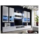 grossiste Maison et habitat: ensemble tv - 5 éléments - blanc
