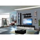 groothandel Home & Living: TV - 6 elementen - zwart en wit