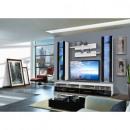 groothandel Home & Living: LED TV set - vier  elementen - zwart en wit