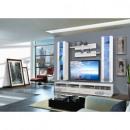 groothandel Home & Living: LED TV set - vier elementen - wit