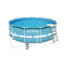 wholesale Garden playground equipment: Kit round tubular  pool - metal frame - 4.57m
