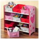 Großhandel Kindermöbel: Möbel Regale für  Kinderzimmer - 9 Körbe -