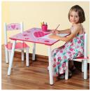 groothandel Kindermeubilair: tafel en twee  stoelen voor de kinderkamer - ens
