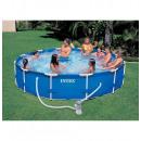 wholesale Garden playground equipment: Kit 3m66 tubular  pool round metal - domesti