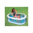 wholesale Garden playground equipment: family oval pool -  Intex - children's pool