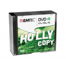 grossiste DVD & Blu-rays / CD: EMTEC DVD-R 4.7 Go  16x - 10pcs Slim Case