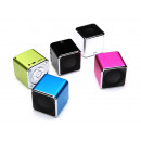 Portable Mini Speakers (Silver)