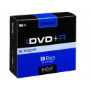 grossiste DVD & Blu-rays / CD: Intenso DVD + R  4,7 Go 16x - 10pcs Slim Case