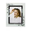 diseño de vidrio marco de fotos, 13x18cm
