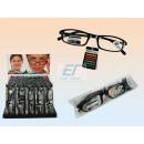 Großhandel Brillen: Lesebrillen mit  Kunststoffgestell Schwarz