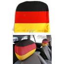 Großhandel Geschenkartikel & Papeterie: Autokopfstützen  Bezug 2er Set Deutschland