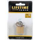 Großhandel Eisenwaren: Vorhängeschloss 25mm lifetime tools