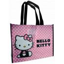 Großhandel Taschen: Einkaufstasche Hello Kitty Pink Neu GM
