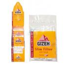 Großhandel Fahrräder & Zubehör: GIZEH Slim Filter 6mm 20 x 120er Beutel