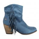 55580 Stivali da donna peluche MTNG COWBOY