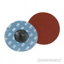 Sanding discs with quick assembly 75 mm, 5 pieces