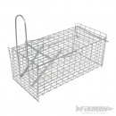 Folding cage to catch rodents