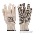 Handschuhe mit PVC-Punkten