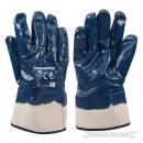 Beschichtete Handschuhe mit Nitril beschichtet