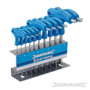 Trx screwdrivers with T-handle, 10 pieces