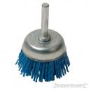 hurtownia Srodki & materialy czyszczace: Pędzel ścierny z włóknami nylonowymi
