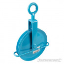 Pulley with rope and hook 254 mm