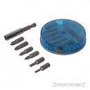 mayorista Jardin y Bricolage: Juego de puntas para atornillador cromo-vanadio, 7