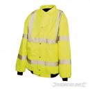 Reflective aviator jacket, class 3