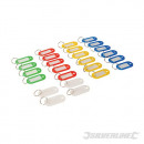 wholesale Accessories: Colored keychains with identification tag ...