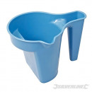Plastic container for painting