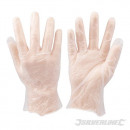 Disposable vinyl gloves, 100 pieces