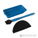 Set of silicone accessories for gluing, 3 pi
