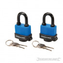 Weather-resistant locks with lock