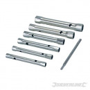 Metric tube wrenches, 6 pieces
