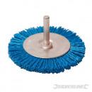 Spazzola circolare abrasiva con filamenti di nylon