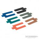 Various plastic wedges