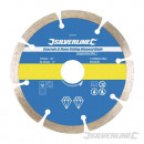 Diamond cutting disc for stone and concrete