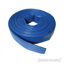 Flat hose for water discharge