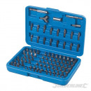 Set of tips for a screwdriver, 100 pieces