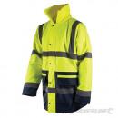 Reflektierende Jacke in zwei Farben, Klasse 3
