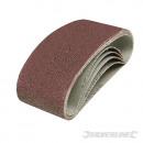 Sanding bands 60 x 400 mm, 5 pieces