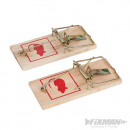 Trap for rodents, 2 pieces