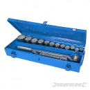 wholesale Small Furniture: Set of 3/4 socket wrenches, 15 pieces