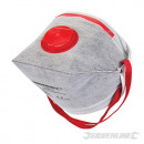 Foldable mask with valve FFP3 NR
