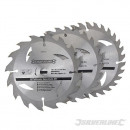 wholesale Garden & DIY store: TCT discs for circular saw 16, 24, 30 dien