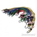 Elastic ropes, 20 pieces
