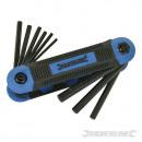 Expert knife with 9 imperial hexagonal keys