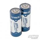 Super alkaline batteries, LR1, 1.5 V, 2 pcs